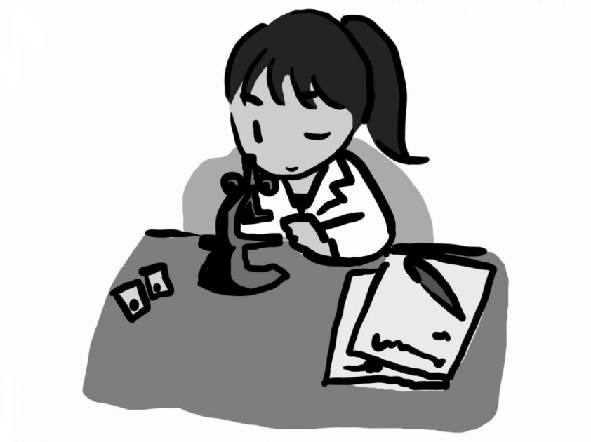 顕微鏡検査23